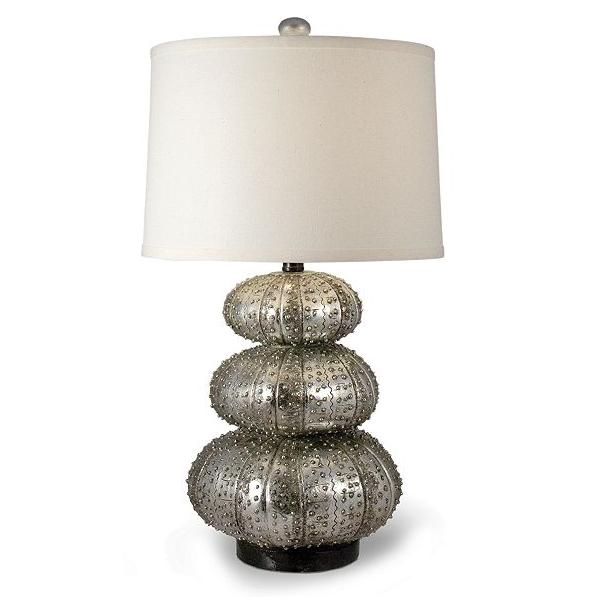 Silver Sea Urchin Lamp