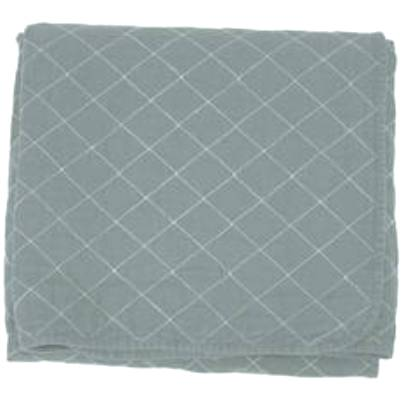 Slate Quilted Throw