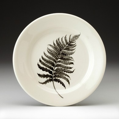 Wood Fern Bread Plate