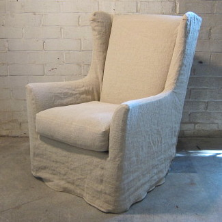 Kitts Flax Swivel Chair