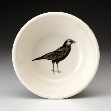 Crow Cereal Bowl